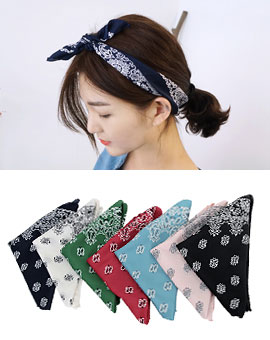 Color bandana (muf)(당일발송!)
