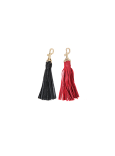 Leather tassel (etc)